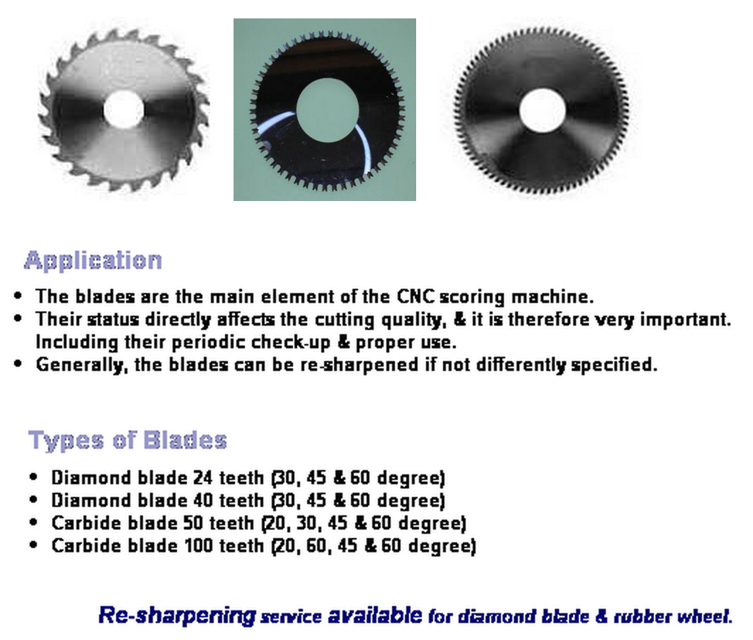 Diamond/Carbide Blades