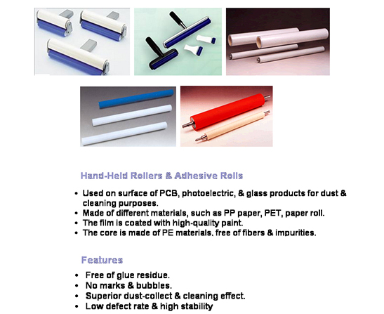 Adhesive and Sticky Rollers Spares